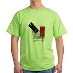School Lockers in Shopping Ca Green T-Shirt