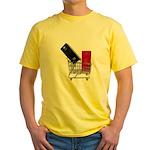 School Lockers in Shopping Ca Yellow T-Shirt
