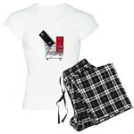 School Lockers in Shopping Ca Women's Light Pajama