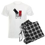 School Lockers in Shopping Ca Men's Light Pajamas