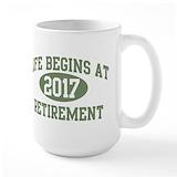 Retirement Large Mugs (15 oz)
