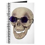 Skull Purple Glasses Journal