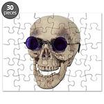 Skull Purple Glasses Puzzle