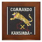 Kansimba Commando Framed Tile