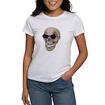 Skull Purple Glasses Women's T-Shirt