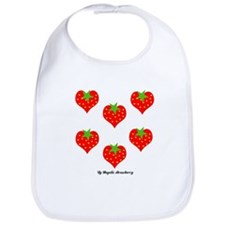 Strawberry Love Bib