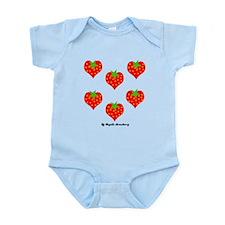 Strawberry Love Infant Bodysuit