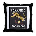 Kansimba Commando Throw Pillow