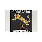 Kansimba Commando Rectangle Magnet