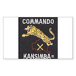 Kansimba Commando Sticker (Rectangle)