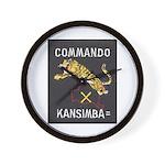 Kansimba Commando Wall Clock