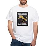 Kansimba Commando White T-Shirt