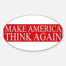 Make America Think Again Decal