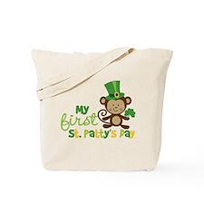 Monkey 1st St. Patrick's Day Tote Bag