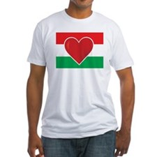 Heart Hungary Flag Shirt