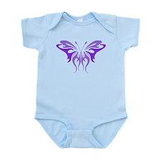 Butterfly, Purple, Infant Bodysuit