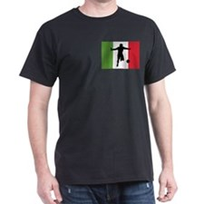 Italy World Cup 2006 Black T-Shirt