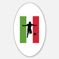 Italy World Cup 2006 Oval Decal