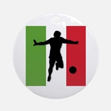 Italy World Cup 2006 Ornament (Round)