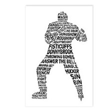 Hockey Fighter Goon Postcards (Package of 8)