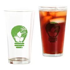 Green Energy Drinking Glass