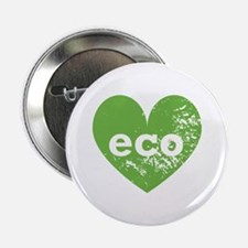 "Eco Heart 2.25"" Button"