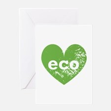 Eco Heart Greeting Card