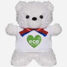Eco Heart Teddy Bear