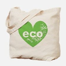 Eco Heart Tote Bag