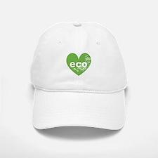 Eco Heart Baseball Baseball Cap