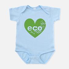 Eco Heart Infant Bodysuit