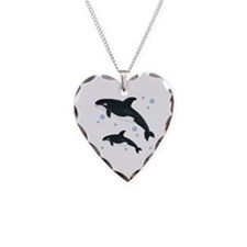 Orca Whale Necklace