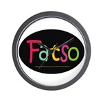 FatSo? I'm fat, so what? Wall Clock