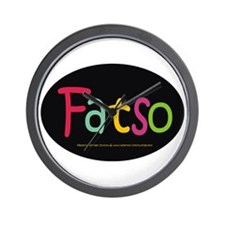 FatSo? I'm fat, so what? Wall Clock