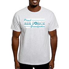 Proud Grandfather Ash Grey T-Shirt