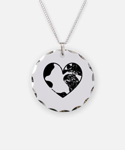 Heart Earth Necklace