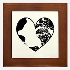 Heart Earth Framed Tile