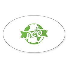Eco Earth Decal