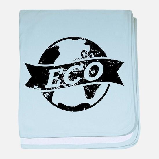 Eco Earth baby blanket