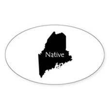 MaineNative-light Decal