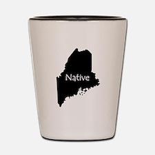 Funny Maine Shot Glass