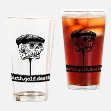 Victor Head on Tee Logo Drinking Glass