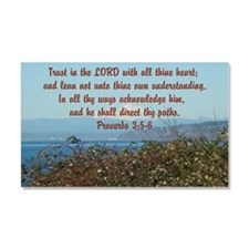 Cute Christian pictures Car Magnet 20 x 12