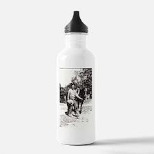 Vintage Cowboy #02 Water Bottle