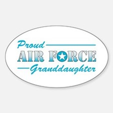 Proud Granddaughter Oval Decal