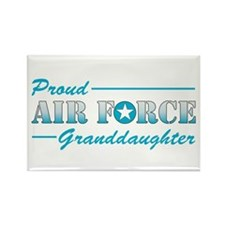 Proud Granddaughter Rectangle Magnet
