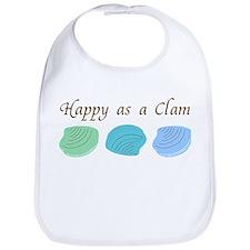 Happy as a Clam Bib