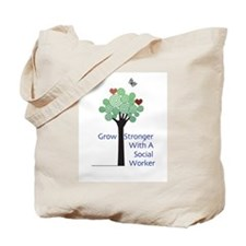 Social Workers Have a Heart Tote Bag