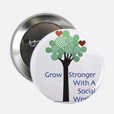 """Social Workers Have a Heart 2.25"""" Button"""