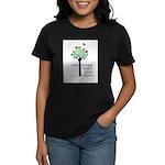 Social Workers Have a Heart Women's Dark T-Shirt